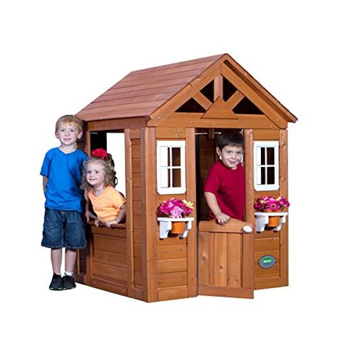 backyard discovery timberlake cedar wooden playhouse the best playhouses for webnuggetz
