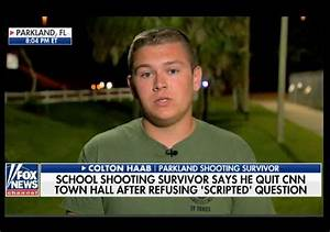 Student Colton Haab stands by claim CNN rewrote his ...