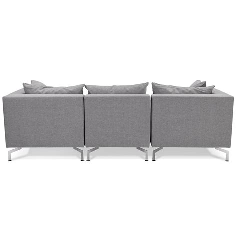 canape voltaire canapé modulable voltaire gris canapé design