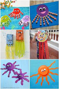 16, Fun, Octopus, Crafts, U0026, Activities