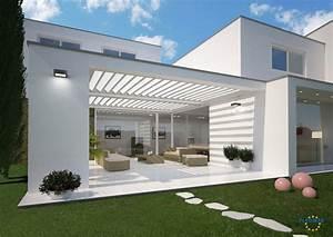 bilder und referenzen fledmex lamellendach fur With whirlpool garten mit beton balkon abdichten