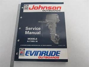 508142 Evinrude Johnson Outboard Service Manual  U0026quot En U0026quot  9 9