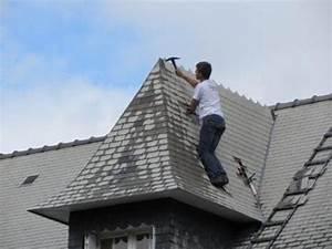 Renovation Toiture Fibro Ciment Amiante : d moussage toiture d moussage tuiles d moussage ardoises peinture toiture hydrofuge ardoises ~ Nature-et-papiers.com Idées de Décoration