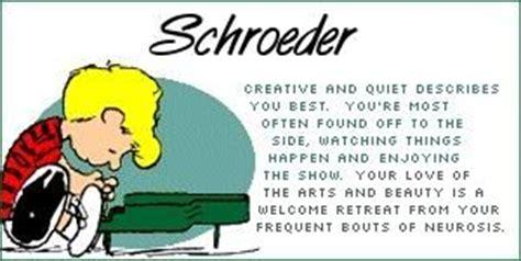 Schroeder Peanuts Quotes