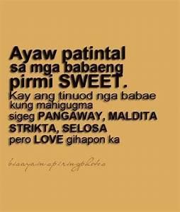 Pin by ms.metz ... Bisaya Badtrip Quotes