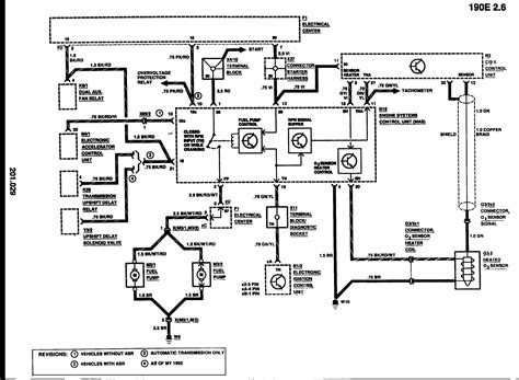 Mercedes-benz 190e Electrical Wiring Diagram Download