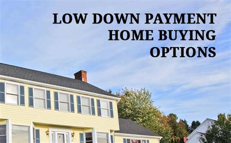 Zero Down & Low Down Payment Mortgages