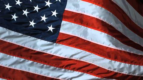 Slow Motion Usa Flag Waving United States Of America Flag