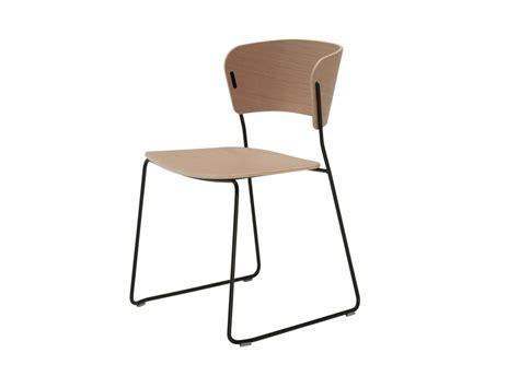 arc wood veneer chair by inclass mobles design yonoh