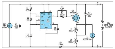 Lead Acid Battery Desultorily Circuit Diagram