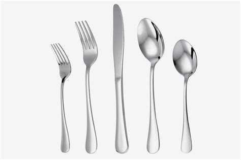 silverware flatware cutlery amazon fancy disposable silver piece lianyu sets daily