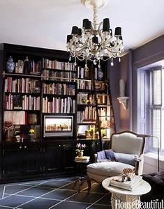 Ideias de decoração para uma biblioteca em casablog da