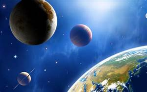 Wallpapers space, planets, earth, stars, solar system ...