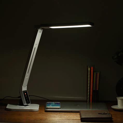 desk with led lights blitzwolf bw lt1 eye protection smart led desk l table