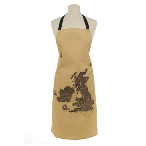 Kitchen Aprons Ireland by Home Sweet Home Uk Ireland Map Apron Ali Miller