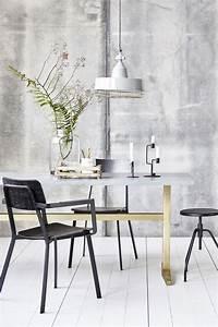 House Doctor Tisch : zinc tisch 80 x 200 cm zink fu gestell aluminium zink fu gestell goldfarbenes metall ~ Frokenaadalensverden.com Haus und Dekorationen