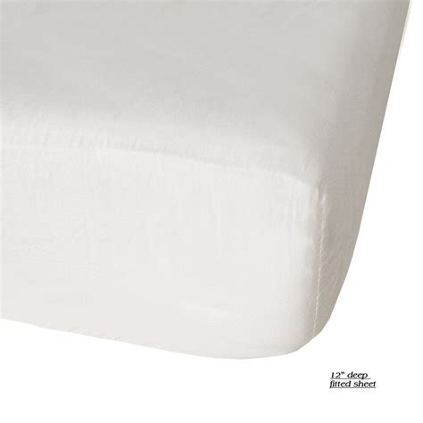 1 new size white hotel fitted 54x80 12 fit
