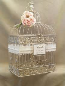 wedding card holder ideas wedding card box chagne birdcage pearls bird cage wedding card holder gold