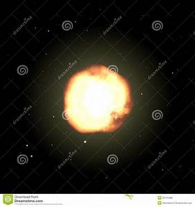 Brightly Illuminated Unknown Planet Royalty Free Stock ...