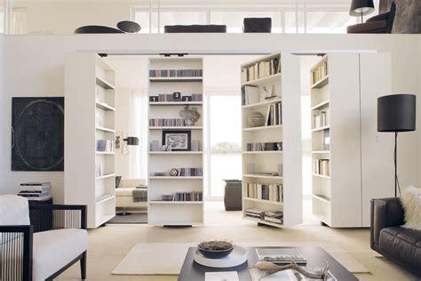 librerie scorrevoli divisorie vista girevoli scaffali albed architonic