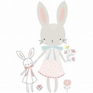 affiche decorative lapin fille pour decorer une chambre d With affiche chambre bébé avec livraison fleurs haut de gamme