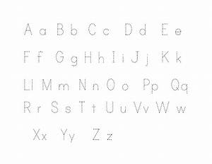 kindergarten alphabet writing worksheets free printable With alphabet letters to trace
