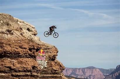 Bull Jump Downhill Rampage Cinemagraph Bike Animated