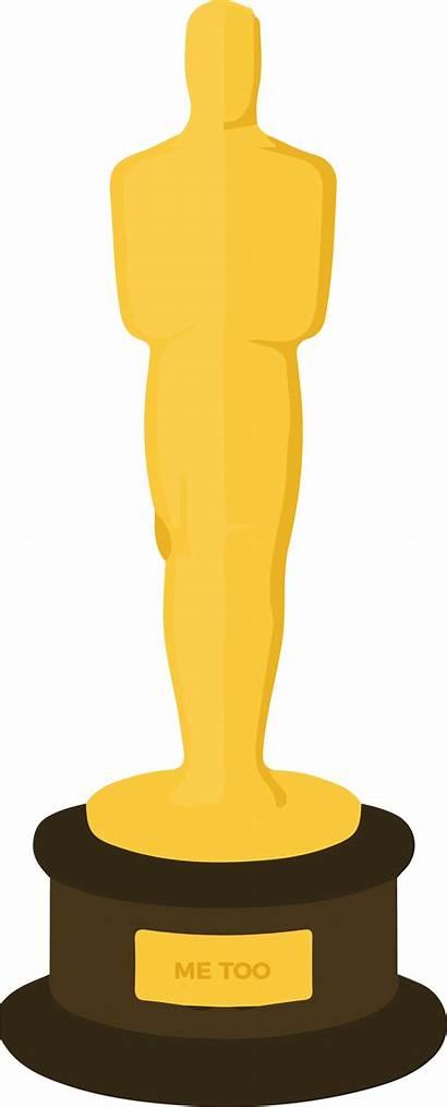 Oscar Clipart Silhouette Oscars Clip Academy Transparent