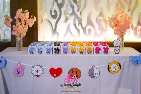 sweets delight party planner sweet corner  goodie