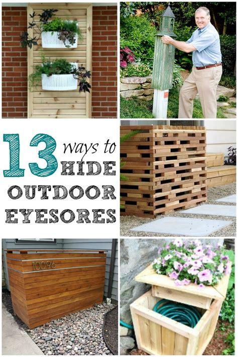 add curb appeal   easy ways  hide outdoor