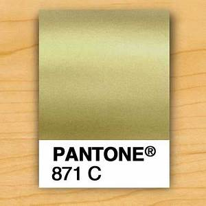GOLD INK PMS 871