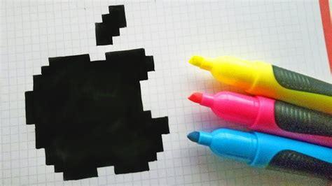 mari ferrari hello hello letra handmade pixel art how to draw logo apple pixelart