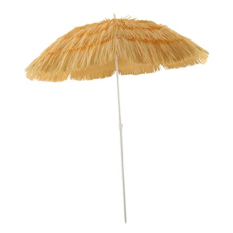 6 outdoor thatched hula patio tiki hawaii umbrella