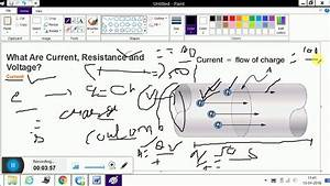 Current Or Voltage And Resistance With Diagram