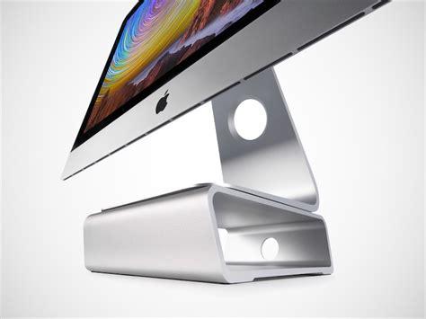 ordinateur bureau mac kickstarter un support pour surélever naturellement l