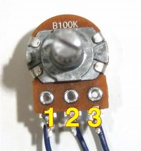 Volume Potentiometer