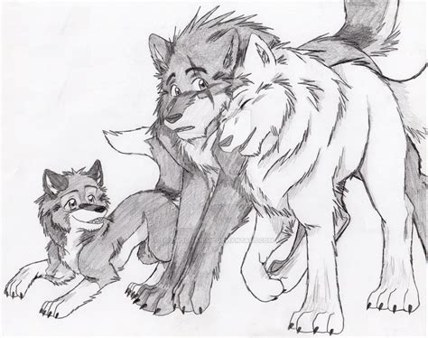Wolves And Pup 2 By Firewolf-anime On Deviantart