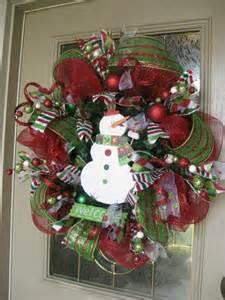 kristen s creations christmas mesh wreath tutorial