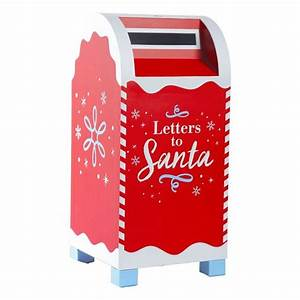 1000 ideas about red mailbox on pinterest mail boxes With santa letter box