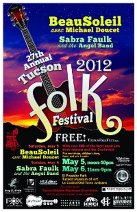 arizona  annual tucson folk festival