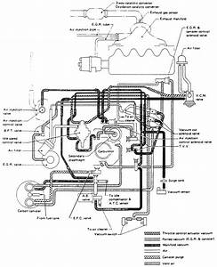Diagrama Carburador Nissan Sentra B13  6