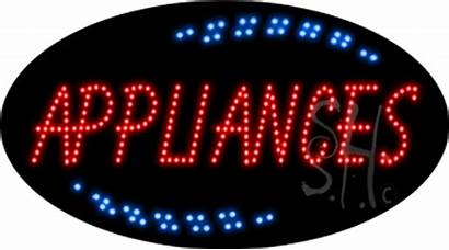Animated Appliances Led Signs
