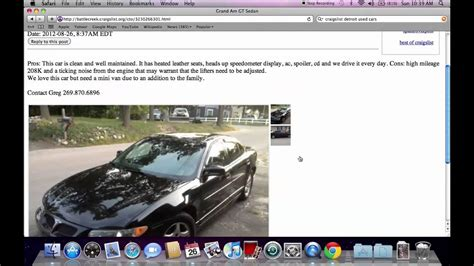 craigslist flint michigan cars pdfeportswebfccom