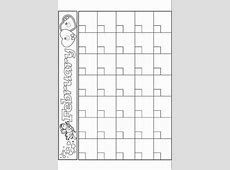 Free Blank Monthly Calendars {Editable} ★Free Teaching