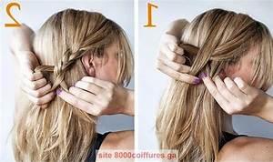 Coiffure Tresse Facile Cheveux Mi Long : coiffure cheveux mi long torsade ~ Melissatoandfro.com Idées de Décoration