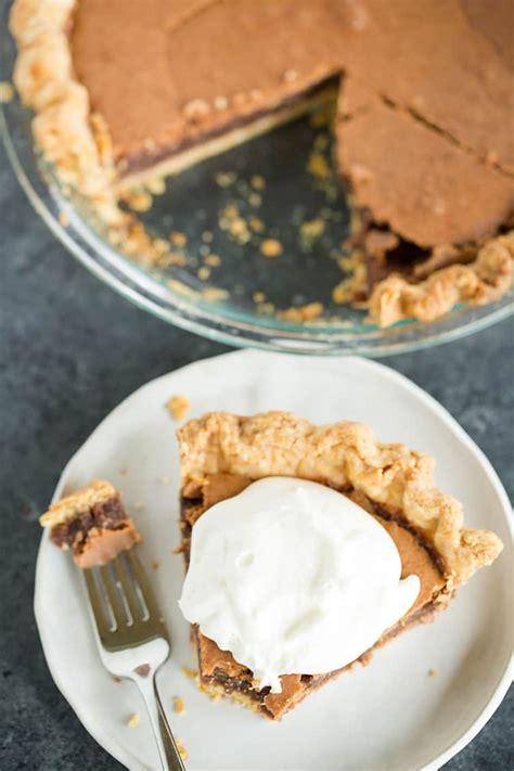 chocolate chess pie brown eyed baker