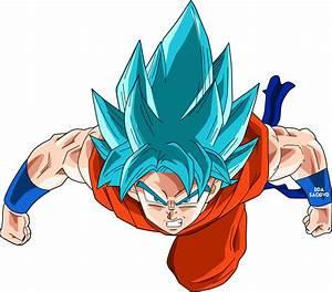 SSGSS Goku vs Tengen Toppa Gurren Lagann - Battles - Comic ...