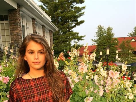 Cindy Crawford : Sa fille Kaia 13 ans suit ses traces Closer