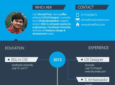 resume flat design free free flat resume template creative beacon