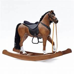Cheval A Bascule : cheval bascule royal spinel baie les chevaux bascule en boi ~ Teatrodelosmanantiales.com Idées de Décoration